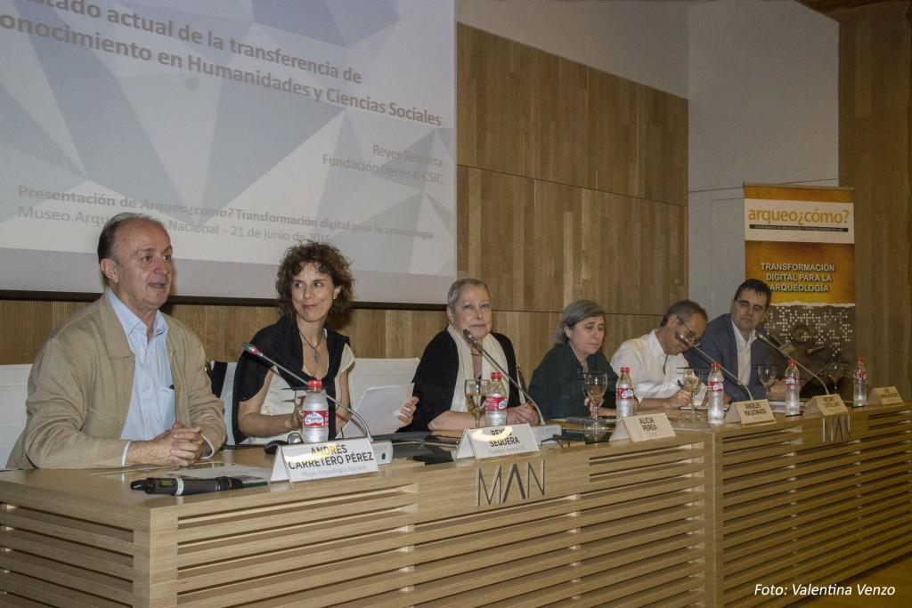 Bienvenida de Andrés Carretero, director del Museo Arqueológico Nacional (MAN)