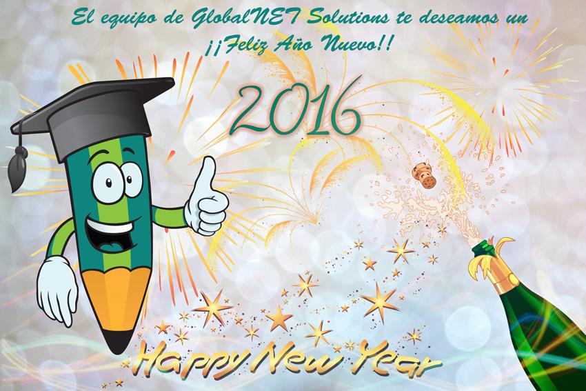 GlobalNET Solutions Feliz Año Nuevo