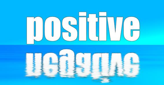 Imagen positiva y negativa