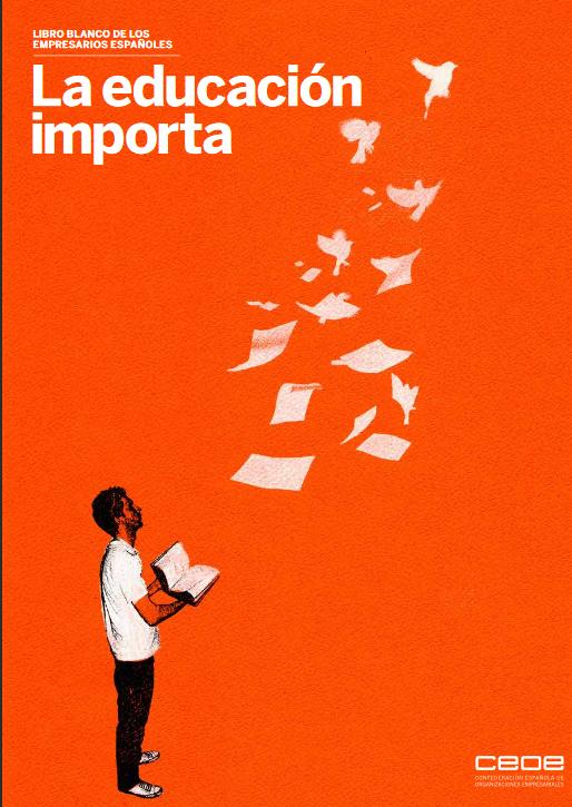 La Educación importa - portada libro blanco de los empresarios españoles