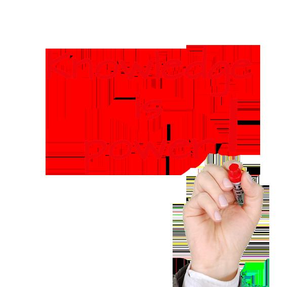 el conocimiento es poder