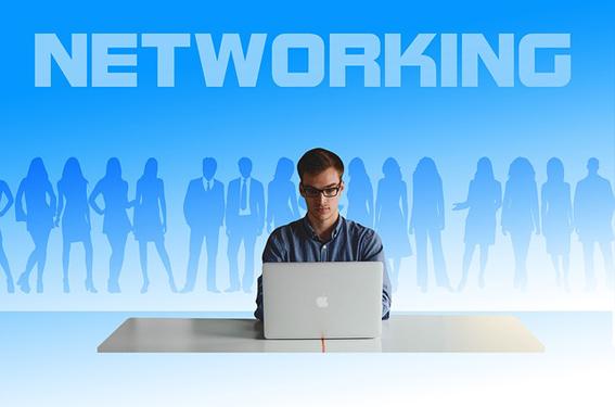 empresa y trabajador networking