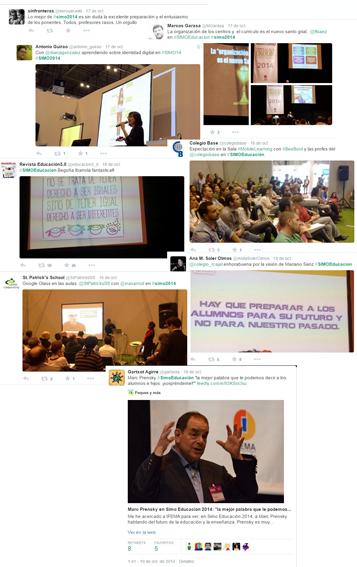 montaje conferencias en SIMO Educación 2014