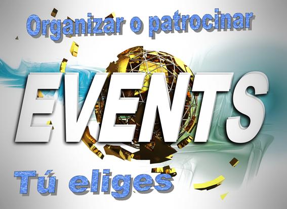 organizar o patrocinar eventos