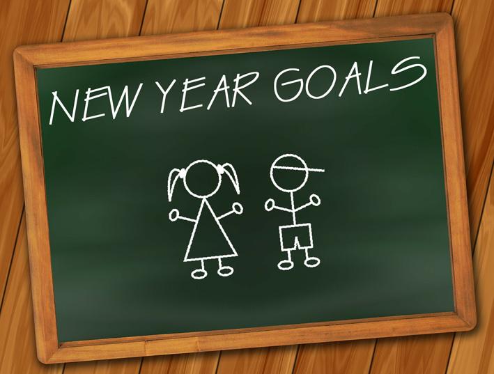 propósitos de año nuevo infantiles