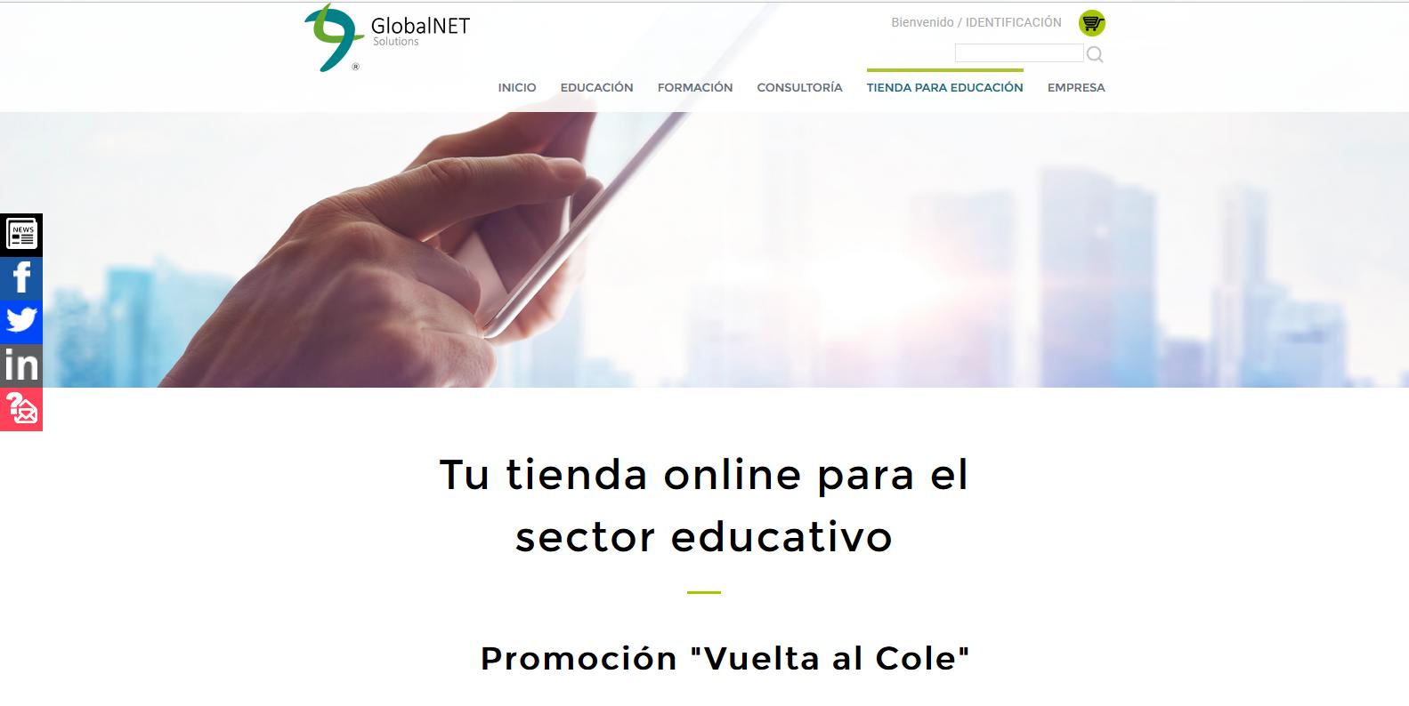 tienda online de GlobalNET
