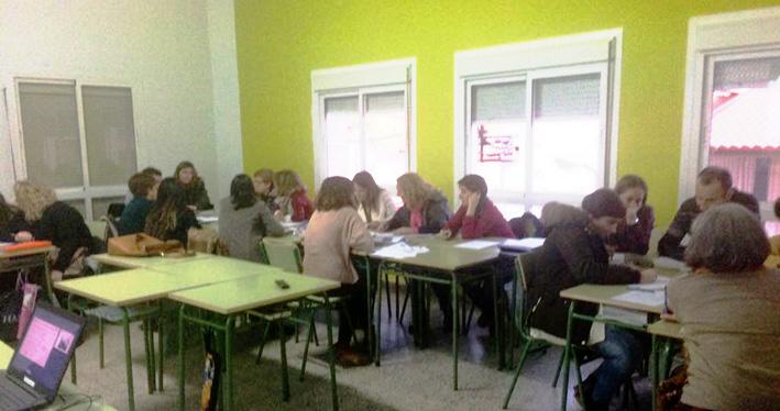 trabajo profesores colegio S José de Puertollano